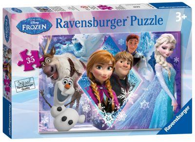 Puzzle 35 pièces La Reine des Neiges
