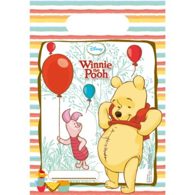 Winnie Puuh - 6 x Partytüten