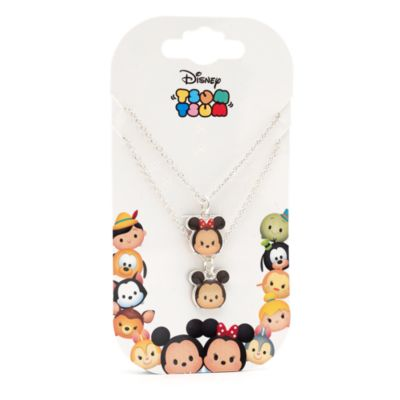 Mickey and Minnie Tsum Tsum Necklace