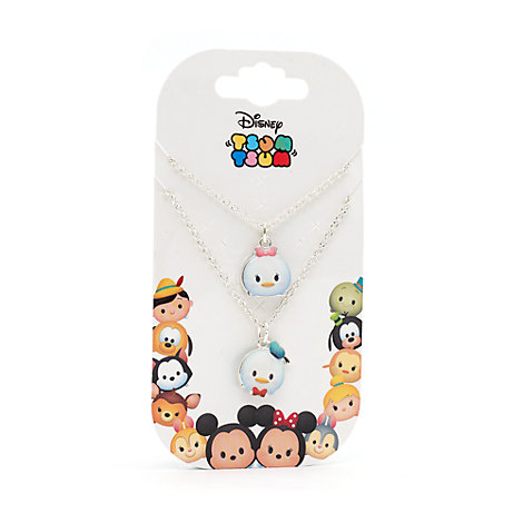 Donald & Daisy Duck Tsum Tsum Necklace