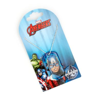 Captain America Dog Tag