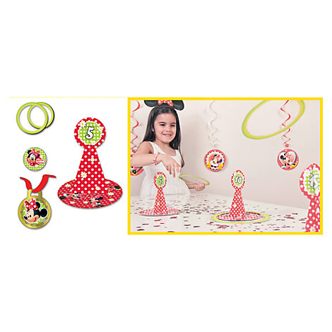 Minnie Mouse Hoopla Party Game