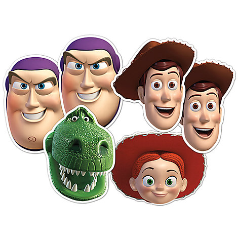 Lot de 6 masques Toy Story