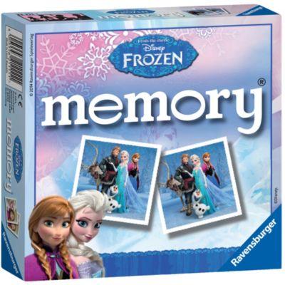 Frozen Matching Pairs Memory Game