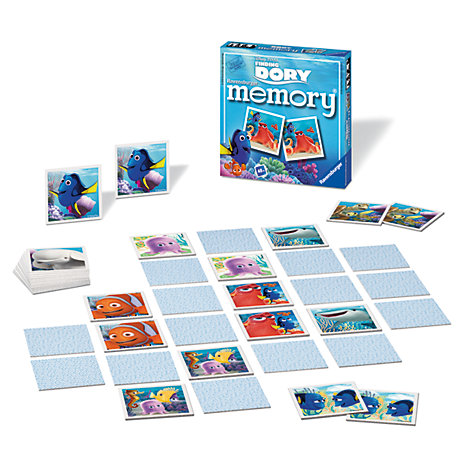 Finding Dory Matching Pairs Memory Game