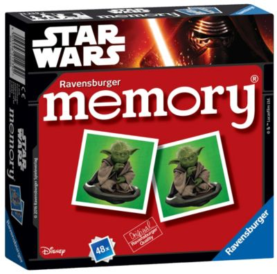 Star Wars Matching Pairs Memory Game