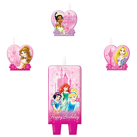 Disney Princess Birthday Candle Set