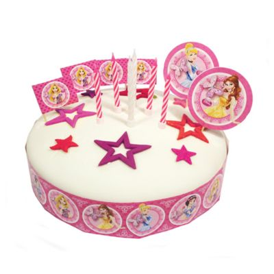 Set decoración tartas princesa Disney