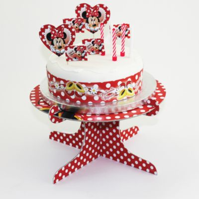 Set decoración tartas Minnie