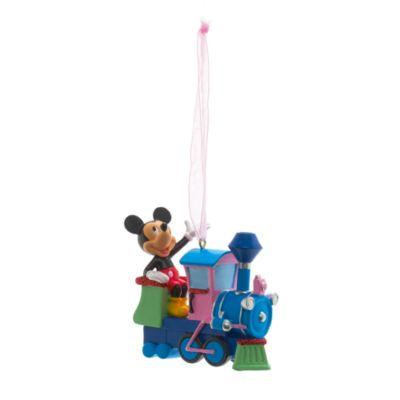 Mickey Mouse Train Decoration, Disneyland Paris