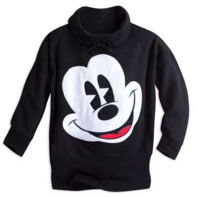 Mickey Mouse Oversized Adults Long Sleeve Top