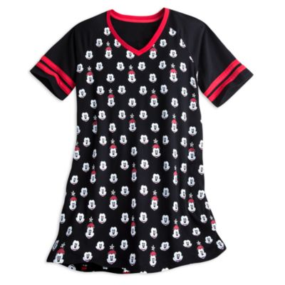 Mickey and Minnie Mouse Adults Nightdress