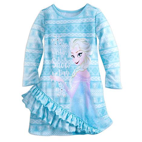 Frozen Long Sleeve Nightdress For Kids