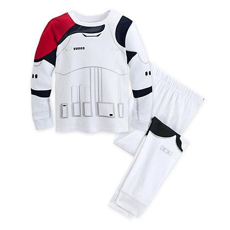 Stormtrooper Costume Pyjamas For Kids, Star Wars: The Force Awakens