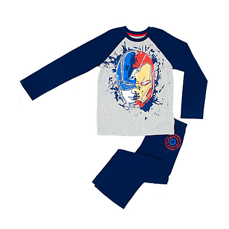 Captain America Pyjamas For Kids