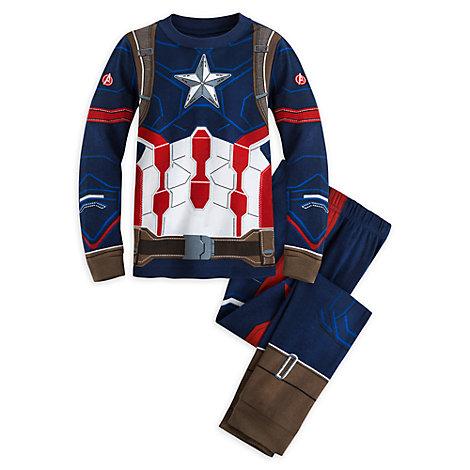 Pijama infantil Capitán América