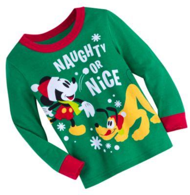 Mickey Mouse Christmas Pyjamas For Kids