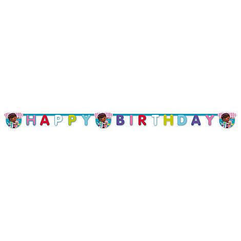 Doc McStuffins Spielzeugärztin - Geburtstagsgirlande