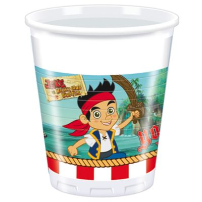 Jake and the Never Land Pirates Party Cups, Set of 8