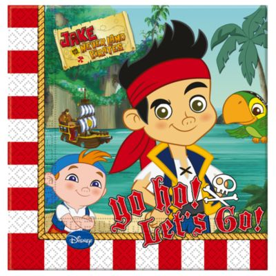Jake and the Never Land Pirates Party Napkins, Pack of 20