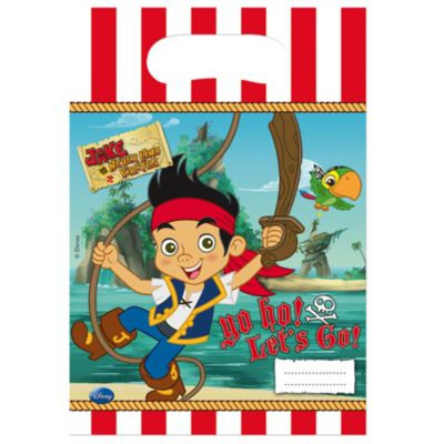 Jake and the Never Land Pirates Party Bags, Pack of 6