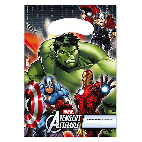 Avengers Party Bags, Pack of 6