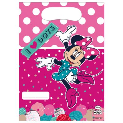 Minnie Mouse 6x Party Bag Pack