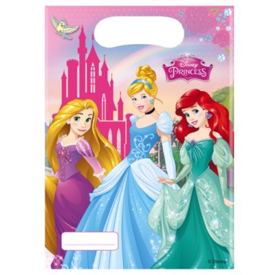 Set 6 bolsas fiesta, princesa Disney