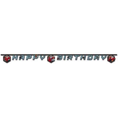 Spider-Man Happy Birthday Banner
