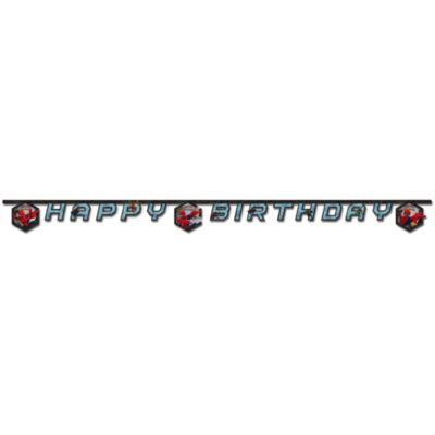 Cartel feliz cumpleaños de Spider-Man