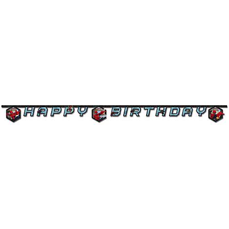 Guirlande d'anniversaire Spider-Man