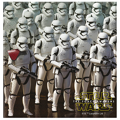 Star Wars: The Force Awakens Party Napkins, Pack of 20