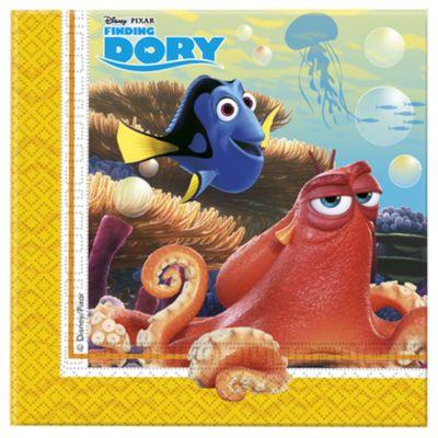 Tovaglioli di carta Alla ricerca di Dory, confezione da 20