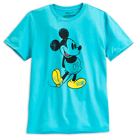 Mickey Mouse Blue Men's T-Shirt