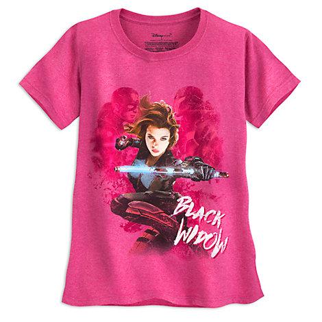 Black Widow Ladies' T-Shirt, Captain America: Civil War