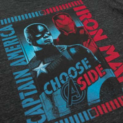 Captain America And Iron Man Men's T-Shirt, Captain America: Civil War