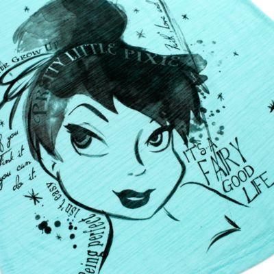 Camiseta azul Campanilla para chica