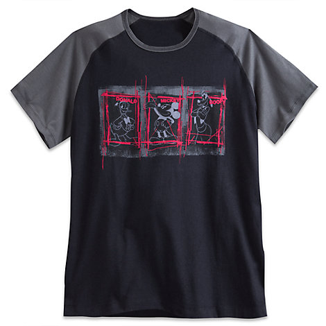 Mickey Mouse And Friends Mens' T-Shirt