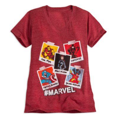 Marvel Ladies' T-Shirt