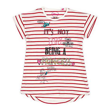 Disney Princess Striped T-Shirt For Kids