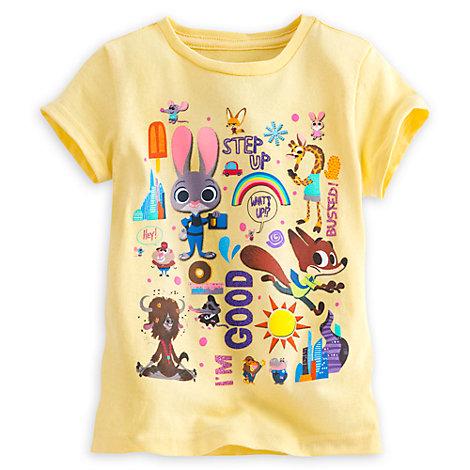 Zootropolis T-Shirt For Kids