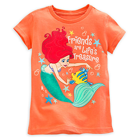 The Little Mermaid Friends T-Shirt For Kids
