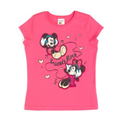 Mickey And Minnie Mouse T-Shirt For Kids