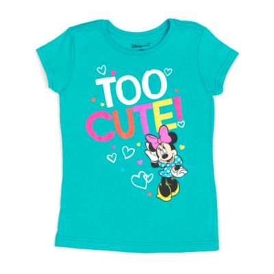 Minnie Mouse Too Cute T-Shirt For Kids