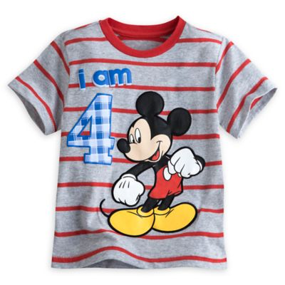 Mickey Mouse Age T-Shirt For Kids