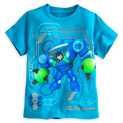 Miles From Tomorrow Robot T-Shirt For Kids