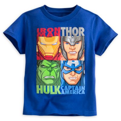 Avengers Square T-Shirt For Kids