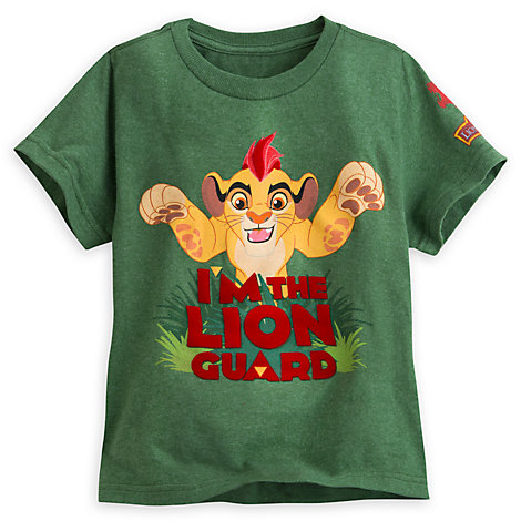 The Lion Guard Green T-Shirt For Kids