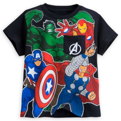 Avengers Pocket T-Shirt for Kids