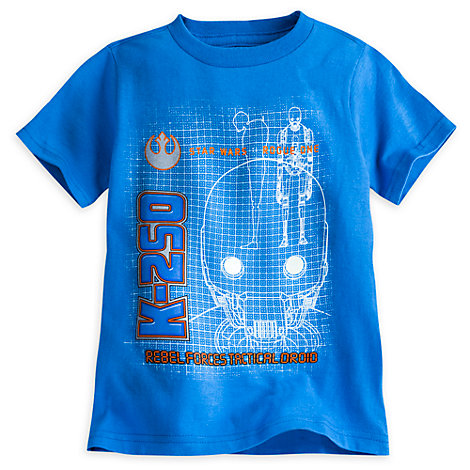 T-shirt phosphorescent K-2SO pour enfants, Rogue One: A Star Wars Story